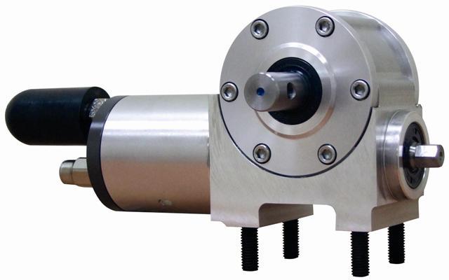 Pneumatic motor-reducer