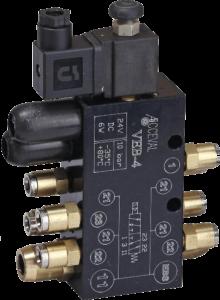 VEB-4 Suspensiones con circuito simple + bloque de conexiones