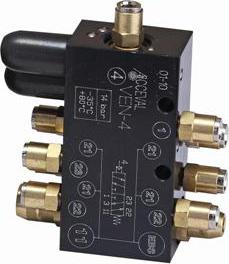 VEN-4 Suspensiones con circuito simple + bloque de conexiones