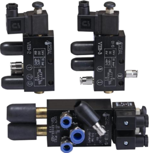 Electrical commanded valves
